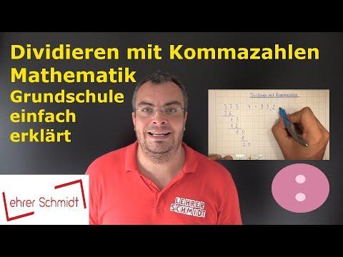 Dezimalbrüche multiplizieren und dividieren from YouTube · Duration:  5 minutes 55 seconds