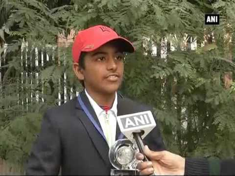 Meet Arjun Bhati, who bagged first position in Kids Golf World Championship - ANI News