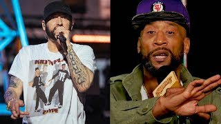 """Eminem Disses Lord Jamar On Stage... """"You Suck At Rapping & Ur A Nobody"""" + New Eminem Album Coming"""