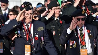 Canada pays homage to soldiers at Vimy Ridge 100 years later