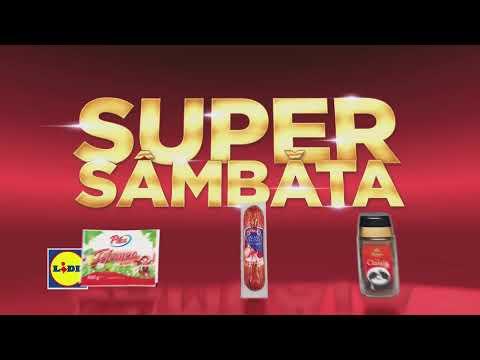 Super Sambata la Lidl • 1 Aprilie 2017