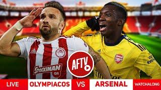 Olympiacos vs Arsenal LIVE Watch-along   Ft Pippa, Ty & Bhav