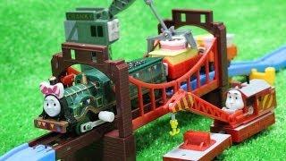 Repeat youtube video きかんしゃトーマス ソドー島のパーティー編 その3 Thomas & Friends Capsule toy カプセルプラレール ガチャガチャ カププラ