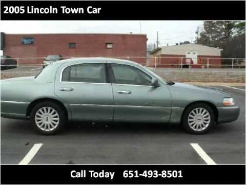 2005 lincoln town car used cars st paul maplewood mn youtube. Black Bedroom Furniture Sets. Home Design Ideas