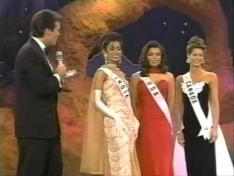 miss universe 1995 crowning moment youtube