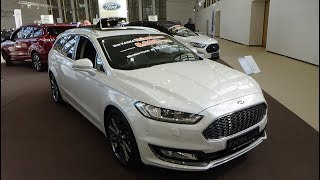 2019 Ford Mondeo Vignale 2.0 TDCI 180 - Exterior and Interior - Autotage Berlin 2018