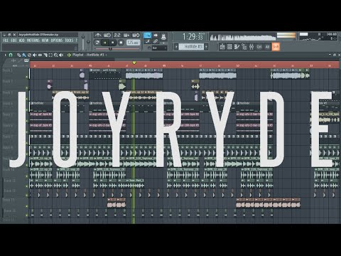 JOYRYDE - Hot Drum [Remake + FLP]