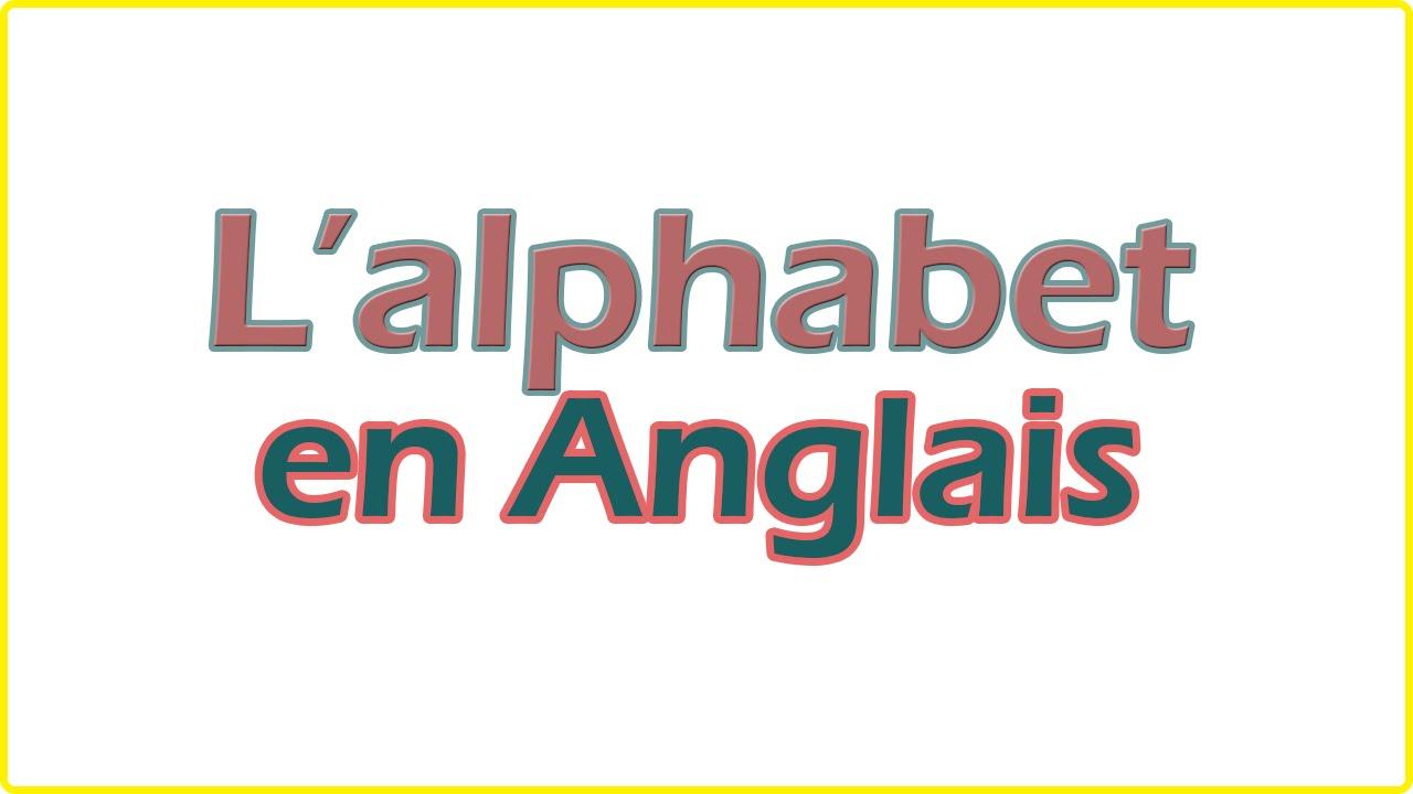 Connu Apprendre l'alphabet en anglais - facile pour débutant - YouTube GD03