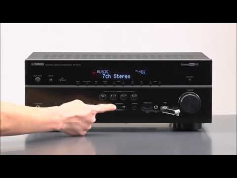 Yamaha rx v675 7 2 channel network 3d av receiver with for Yamaha rx v675 7 2 channel network av receiver with airplay