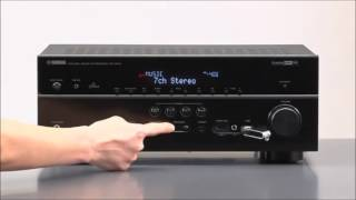 Yamaha RX V675 7.2 Channel Network 3D AV Receiver with Airplay