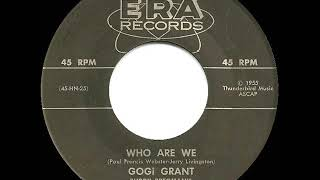 1956 Gogi Grant - Who Are We
