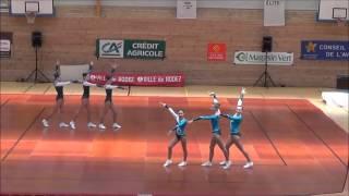 FFG   demi finale sud du championnat de France 2014 Gymnastique aerobic   Equipes ACTPA   Allevard L