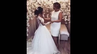 Невеста плачет на свадьбе / Красивые мама и невеста / Шикарная армянская свадьба в Ереване 2018