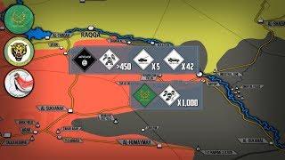 13 сентября 2017. Военная обстановка в Сирии. 85% территории Сирии освобождено от террористов.