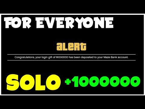 *3 STEP* NEW SOLO Money Glitch On Gta 5 Online For Everyone! (No REQUIREMENTS) *BROKE TO MILLIONS*