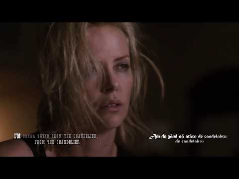 Sia - Chandelier, lyric video (tradus romana)