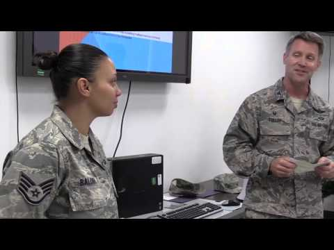 Wing Commander Surprises NCO with STEP Promotion