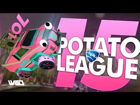 POTATO LEAGUE #15 | Rocket League Funny Moments & Fails thumbnail