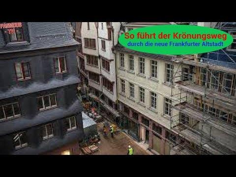 So führt der Krönungsweg durch die neue Frankfurter Altstadt