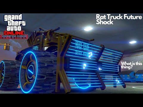 Rat Truck Future Shock Customization Gameplay Arena War Best Vehicle DLC GTA 5 Online
