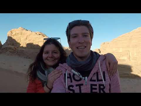 Spending winter in sunny Jordan
