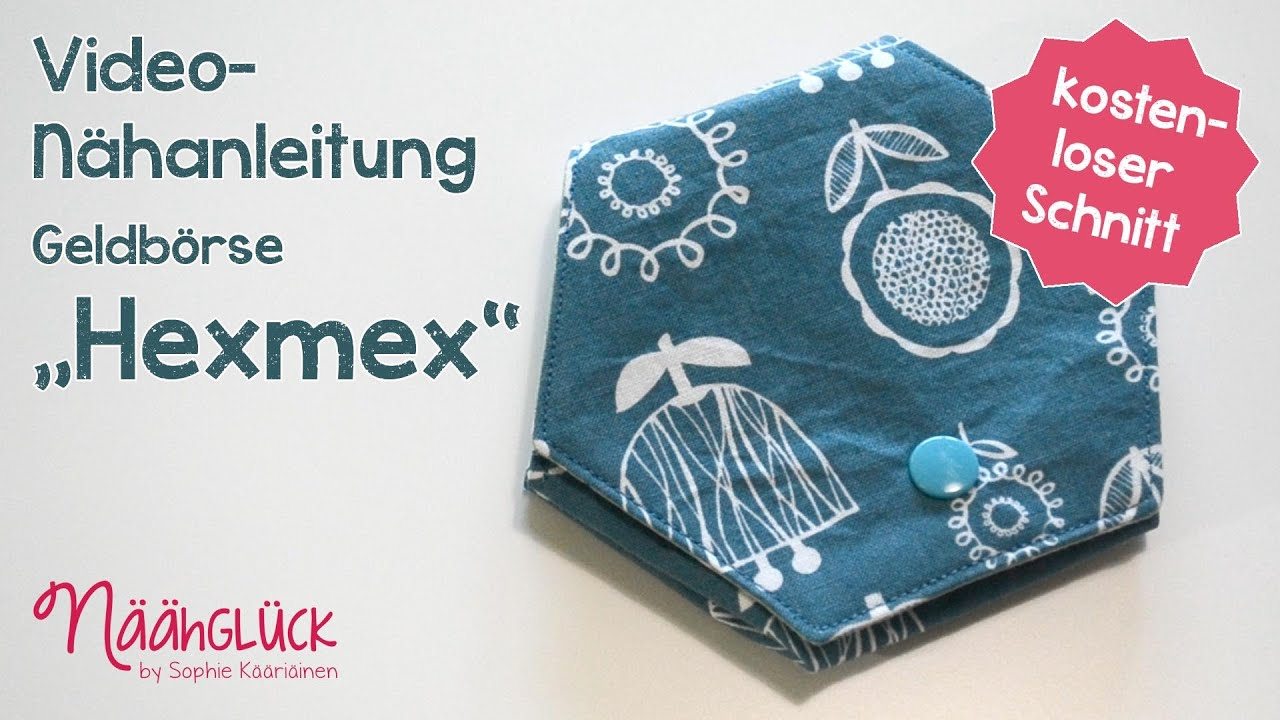 Nähanleitung Hexmex : Kostenloses Schnittmuster - YouTube