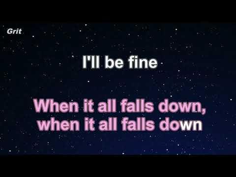 All Falls Down feat  Noah Cyrus with Digital Farm Animals   Alan Walker Karaoke 【No Guide 】