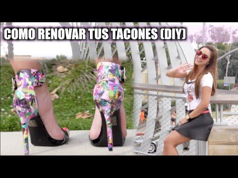 COMO RENOVAR TUS TACONES (DIY) | Naty Arcila |