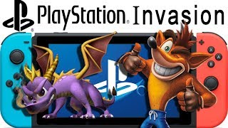 Nintendo Switch Getting a PlayStation Invasion?