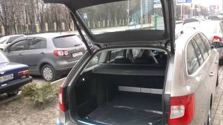 Электропривод багажника Skoda Suberb Combi.mp4(Открытие крышки багажника с помощью штатного брелка., 2011-04-04T10:29:07.000Z)