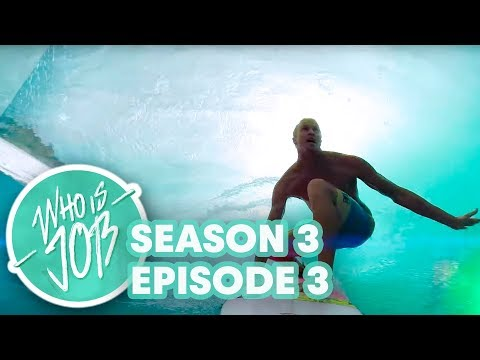 Perfect Pipeline with Two Surf Masters  Who is JOB 4.0: S3E3