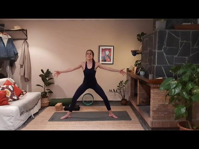Vinyasa yoga con Joana