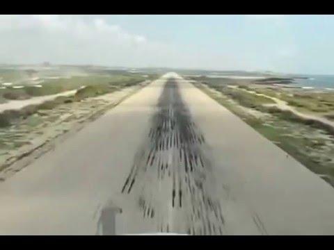 AIRBUS A320 Mogadishu Airport Somalia.