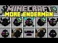Minecraft MORE ENDERMAN MOD! | EVIL ENDERMAN TITANS, GUARDS, MINIONS, & MORE! | Modded Mini-Game