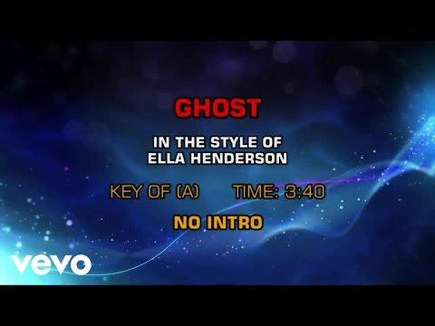 Ella Henderson - Ghost (Karaoke)