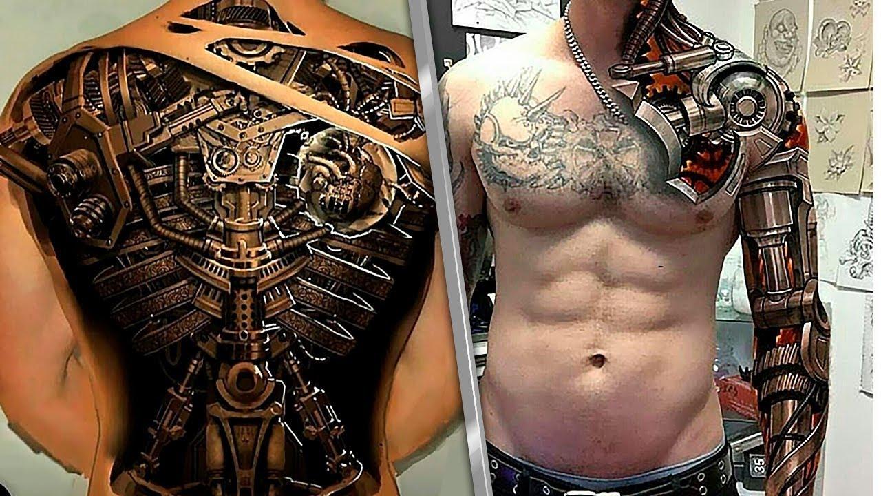 Татуировки Три Д Фото