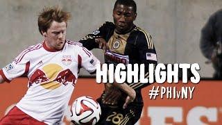 HIGHLIGHTS: Philadelphia Union vs. New York Red Bulls | September 13, 2014