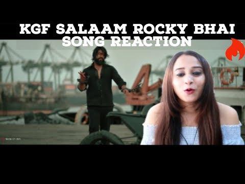 Salaam Rocky Bhai Video Song Reaction| KGF Kannada | Yash | Prashanth Neel | Reaction Mania