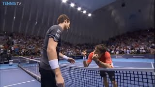Andy Murray vs Tommy Robredo incredible dramatic two tennis final matches in 2014