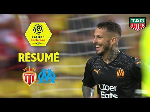 AS Monaco - Olympique de Marseille ( 3-4 ) - Résumé - (ASM - OM) / 2019-20