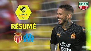 Gambar cover AS Monaco - Olympique de Marseille ( 3-4 ) - Résumé - (ASM - OM) / 2019-20