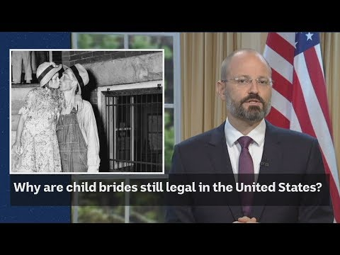 Why are child brides still legal in the United States?
