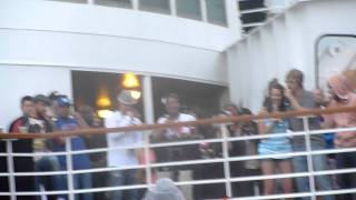 Livin La Vida Loca - Karaoke -Backstreet Boys Cruise 2011