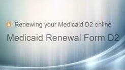 DC Medicaid Renewal D2 Online