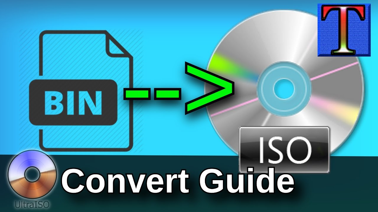 convert multiple bin files to iso