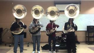 Phillip O. Berry highschool tubas- Juicy