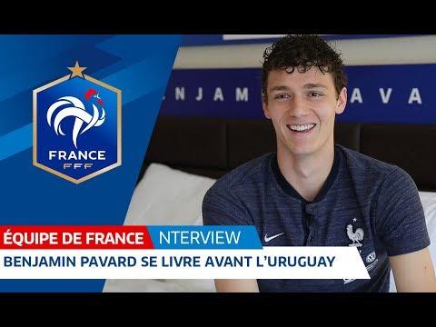 Equipe de France : Entretien avec Benjamin Pavard I FFF 2018