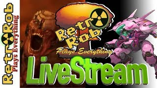 Retr0Rob LiveStream: Doom Vulcan and Overwatch 60FPS Test