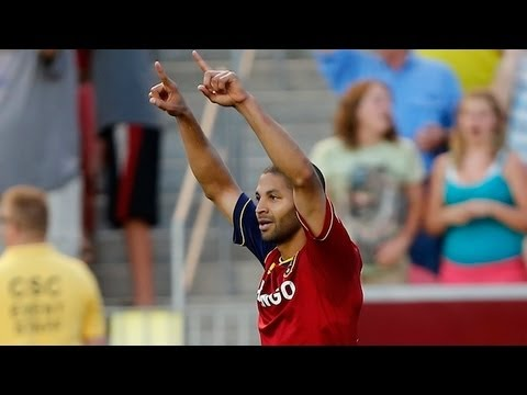 HAT TRICK: Real Salt Lake's Alvaro Saborio nets 3 goals in win over Portland Timbers