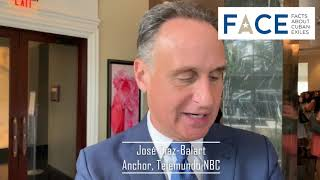 Telelmundo/NBC Anchor Jose Diaz Balart at 2019 FACE Excellence Awards